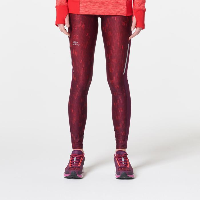 Hardloopbroek voor dames Run Dry+ paars