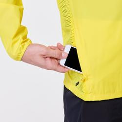 VESTE COUPE VENT RUNNING HOMME RUN WIND jaune