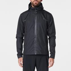 Run Rain Breath Men's Running Rain Jacket - Black