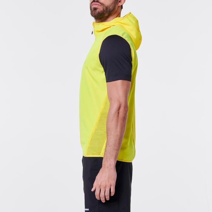 CHALECO RUNNING HOMBRE RUN WIND amarillo