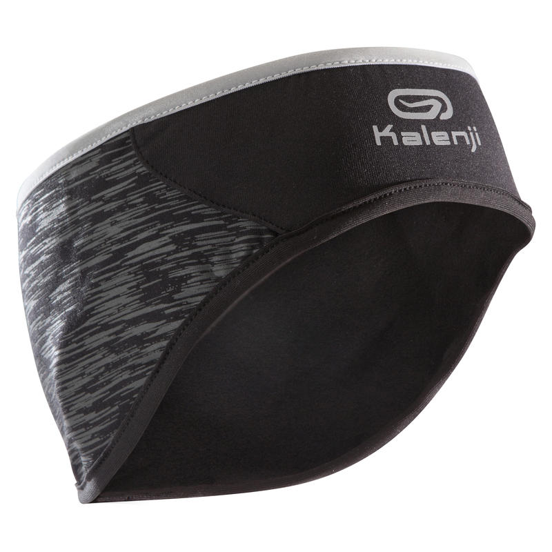 RUNNING HEADBAND EAR PROTECTION  BLACK