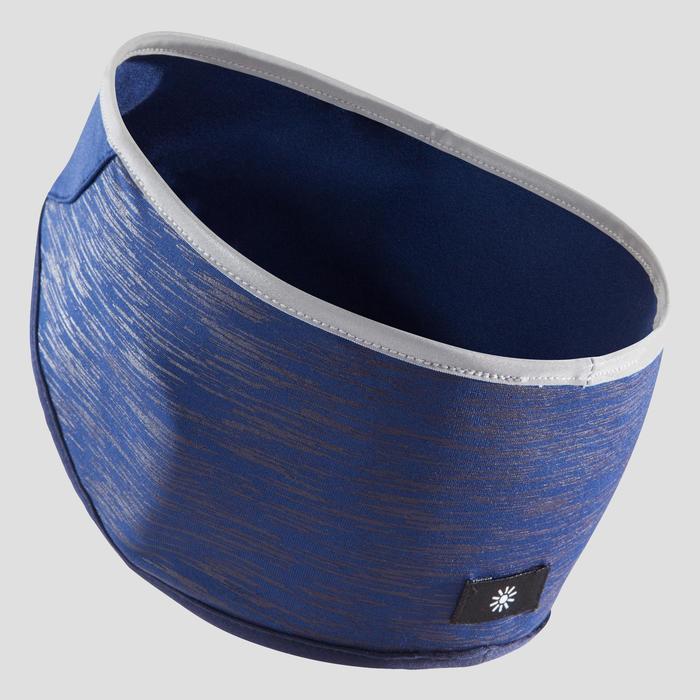 Hoofdband voor hardlopen met oorbedekking blauw