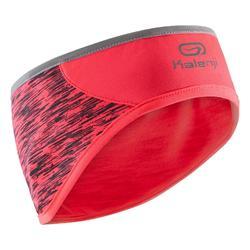 Hoofdband voor hardlopen met oorbedekking roze