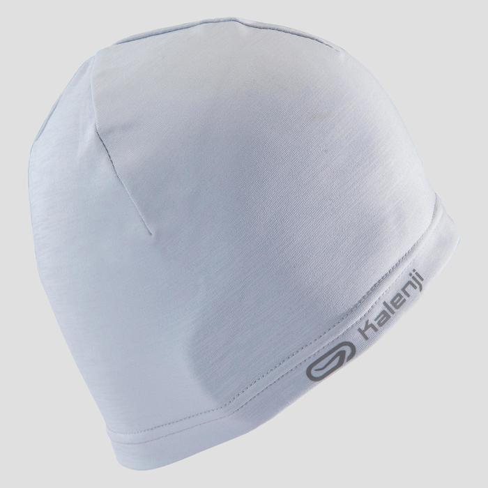 跑步帽RUN WARM+ - 淺灰