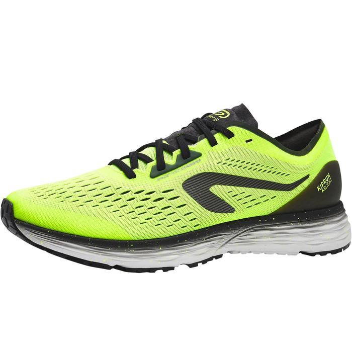 男款跑鞋KIPRUN KS LIGHT - 黑色/黃色