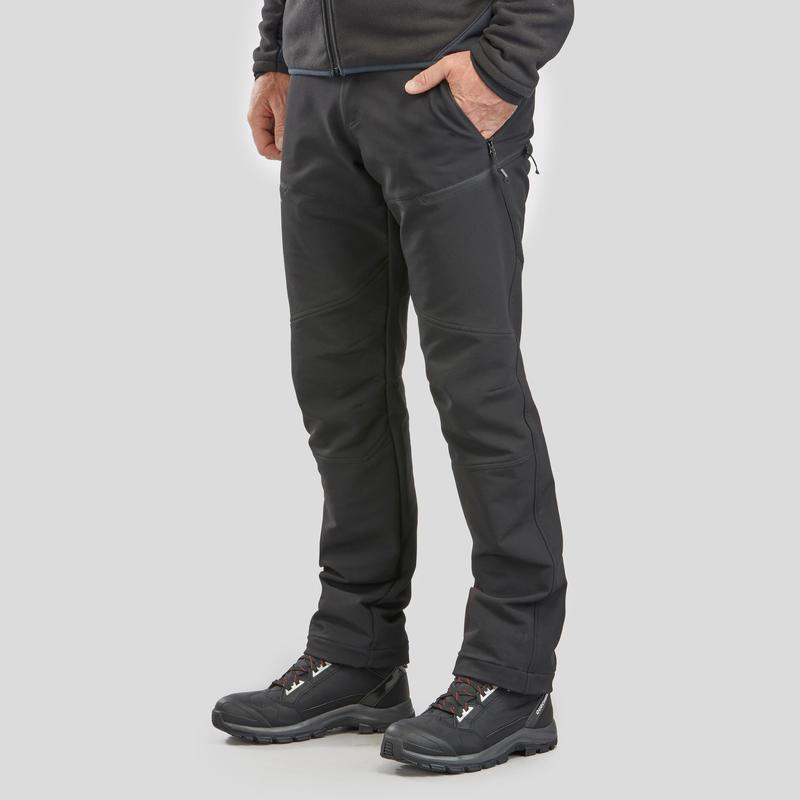 Pantalon imperméable de randonnée sur neigeSH500 X-Warm – Hommes