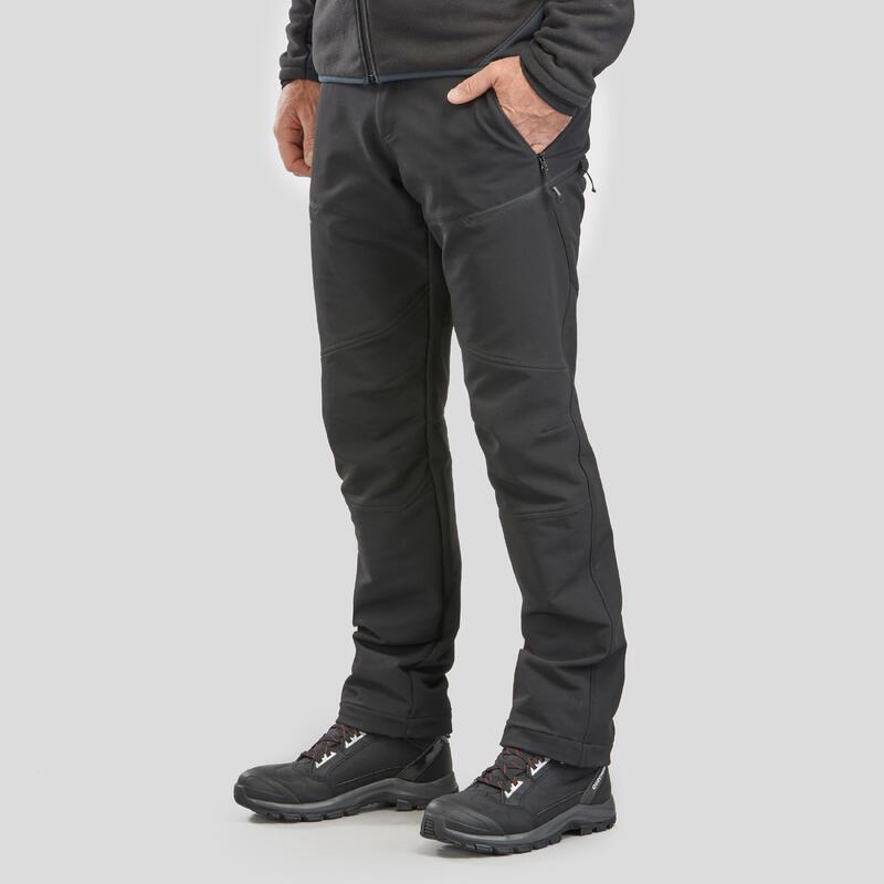 Pantalones de Hombre de Montaña y Trekking Invierno Quechua SH500 x-Warm