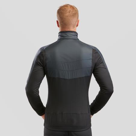 Manteau de randonnée en laine polaireSH900 X-Warm – Hommes