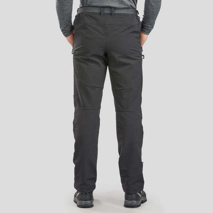 Pantalón de senderismo nieve hombre SH500 x-warm negro.