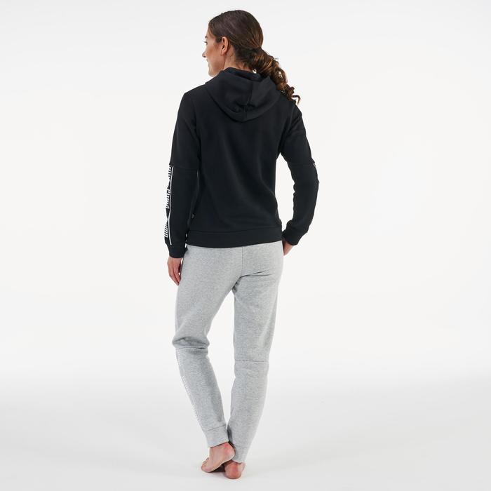 Jogginghose Regular Damen hellgrau
