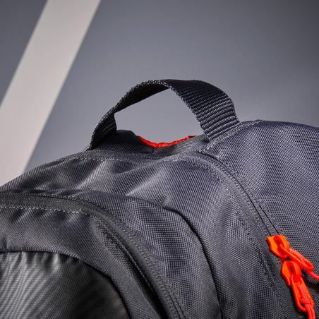Рюкзак 500 для тенісу - Чорний/Помаранчевий