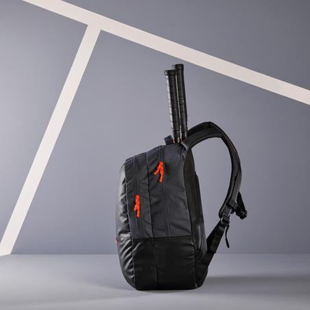 Ransel Tenis 500 BP - Hitam/Abu-Abu
