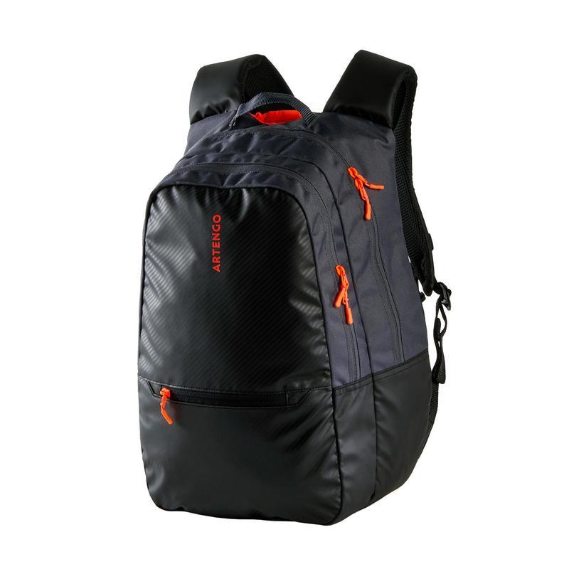 Tenisový batoh 500 BP šedo-černý