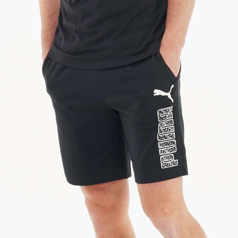 T-SHIRT E SHORT UOMO Ginnastica, Pilates - Pantaloncini uomo gym neri PUMA - Abbigliamento uomo