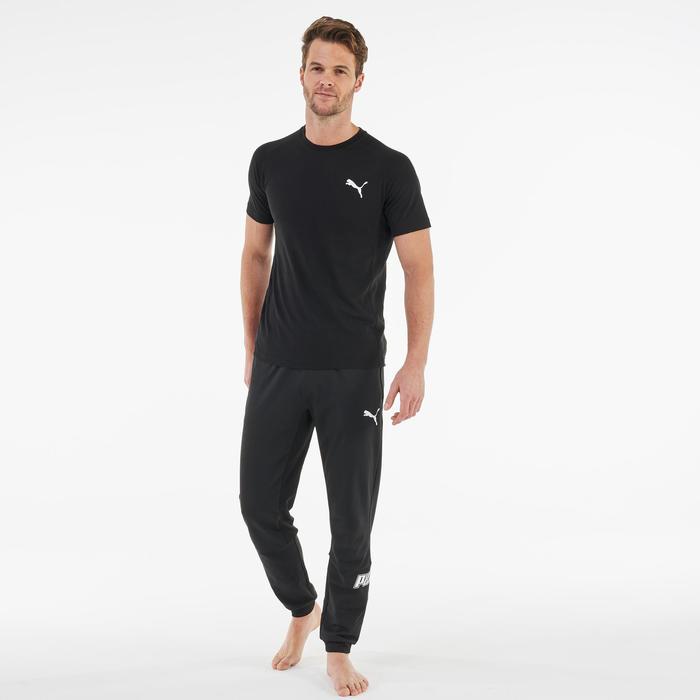 T-Shirt Active Herren schwarz