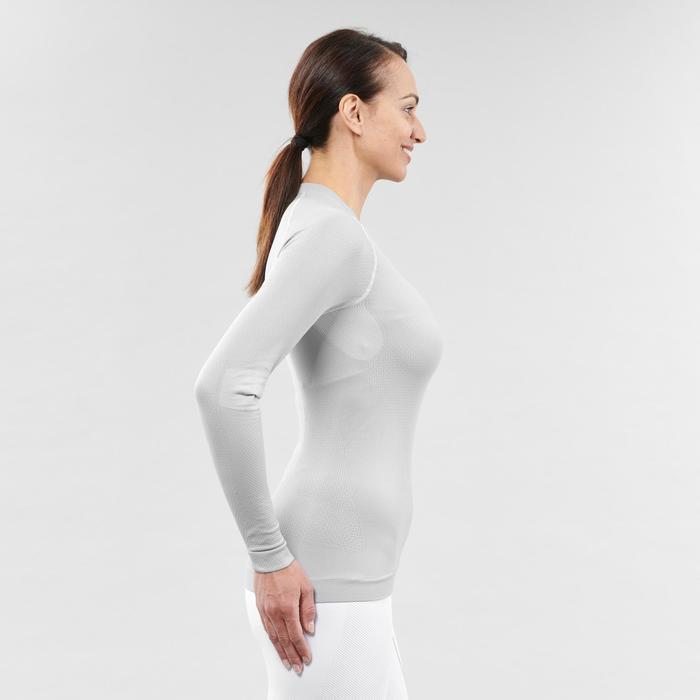 Sous-vêtement de ski femme 580 I-Soft haut gris