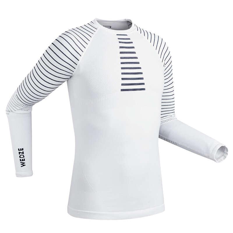 MEN SKI BASELAYER & PULL Skiing - Men's Underwear Top 900 -White WEDZE - Ski Wear