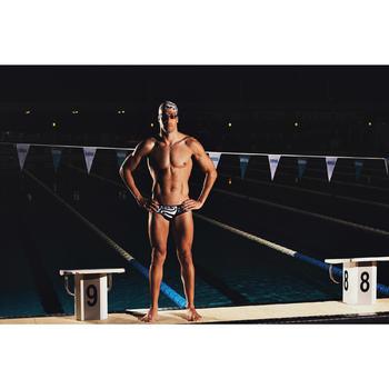 Bañador Natación Slip 100 Nabaiji Hombr Estampado New Zealand