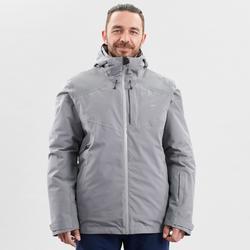 男款下坡滑雪外套580 - 灰色