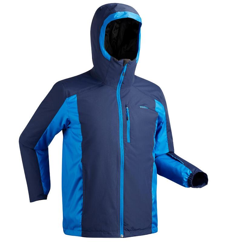 Ski-jas voor pisteskiën heren 180 blauw