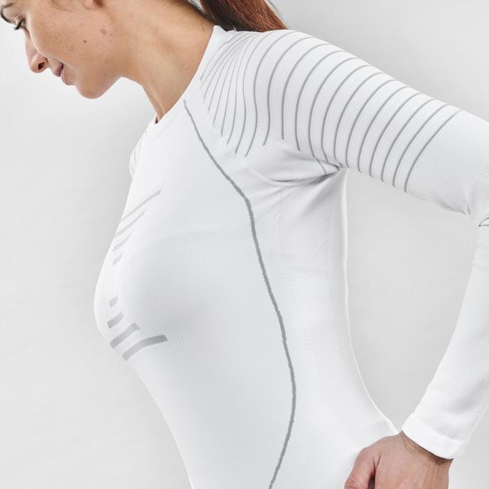 Skiondershirt voor dames 900 wit