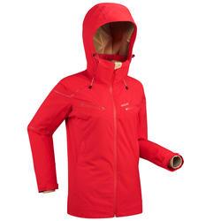 Ski jas dames rood voor pisteskiën 580