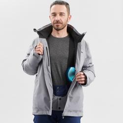 Heren ski jas waterdicht voor 580 grijs winterjas