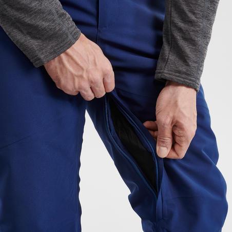 MEN'S DOWNHILL SKI TROUSERS 580 - NAVY BLUE