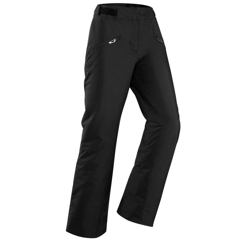 WOMEN'S CLOTHING BEGINNER SKIERS Ski Wear - W D-SKI Trousers 180 - Black WEDZE - Ski Wear
