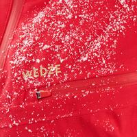 WOMEN'S DOWNHILL SKI JACKET 580 - RED