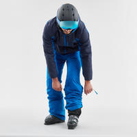 MEN'S DOWNHILL SKI PANTS 180 - BLUE