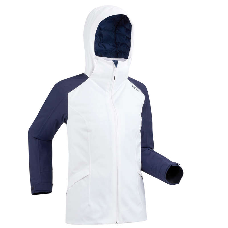 WOMEN'S JACKETS OR PANTS INTERMED SKIERS Clothing - Women's D-Ski Jacket 500 - Wh WEDZE - Jackets and Coats