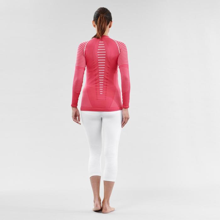 Thermoshirt voor skiën dames 900 roze