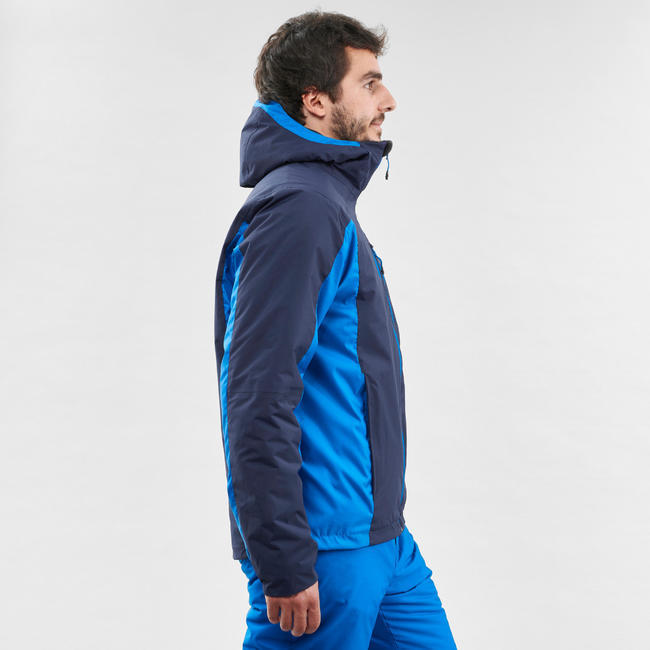MEN'S DOWNHILL SKI JACKET 180 - BLUE