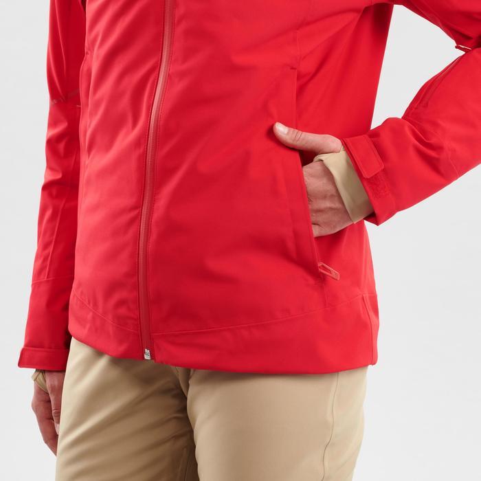 Ski-jas voor pisteskiën dames 580 rood
