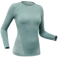Goed ademend thermoshirt voor skiën dames BL 900 blauw