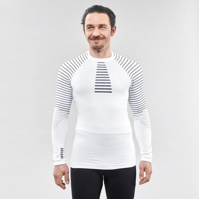 Thermoshirt voor skiën voor heren 900 wit