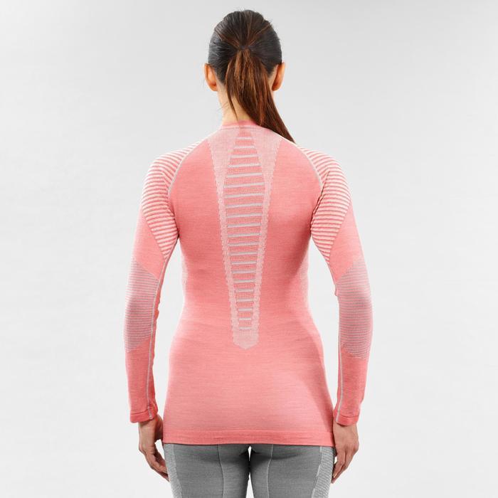 Thermoshirt voor skiën voor dames 900 X-Warm roze
