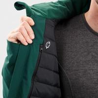 Men's Warm Ski Jacket 500 - Green