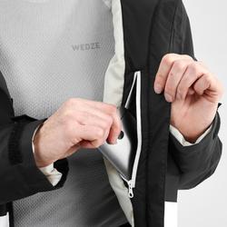 女款D-SKI外套180 - 黑色與白色
