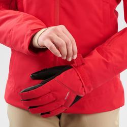 Waterdichte ski jas dames rood 580 winterjas