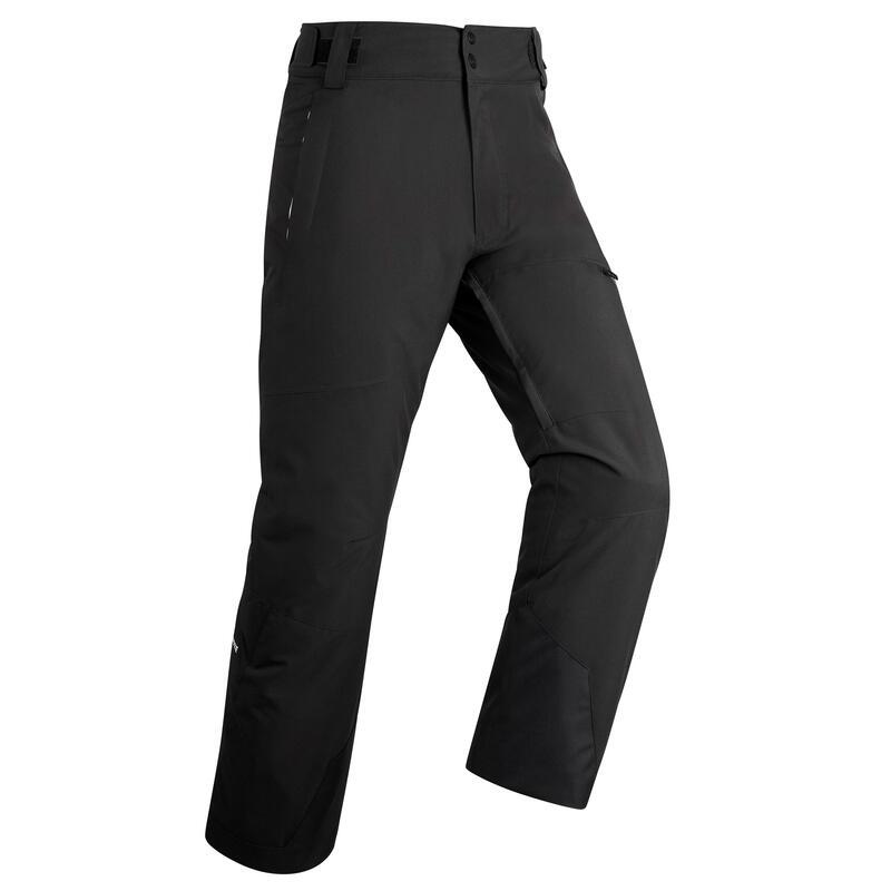Pantalon schi pe pârtie 500 Negru Bărbați