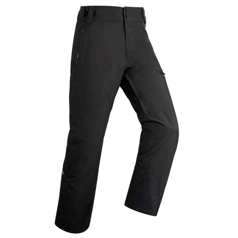MEN'S JACKETS OR PANTS INTERMED. SKIERS Skiing - M D-SKI Trousers 500 - Blk WEDZE - Ski Wear