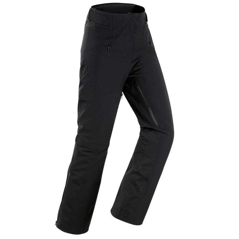 Pantalones de Esquí y Nieve Mujer Wedze Ski-P PA 980 Negro
