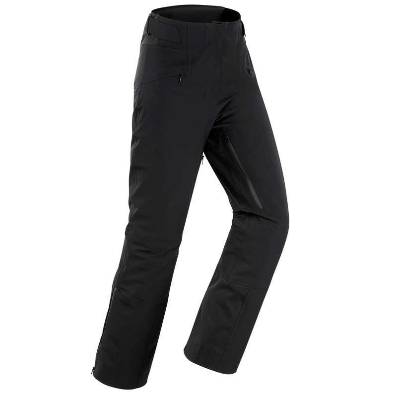 WOMEN'S JACKET OR PANT ADVANCED SKIERS Skiing - W P-Ski Trousers 980 - black WEDZE - Ski Wear