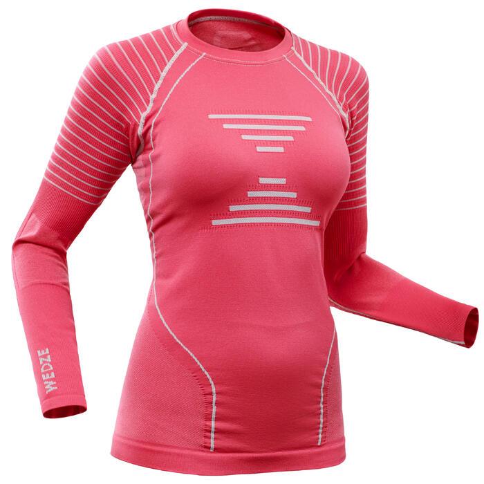 Sous-vêtement de Ski Femme Haut 900 Rose
