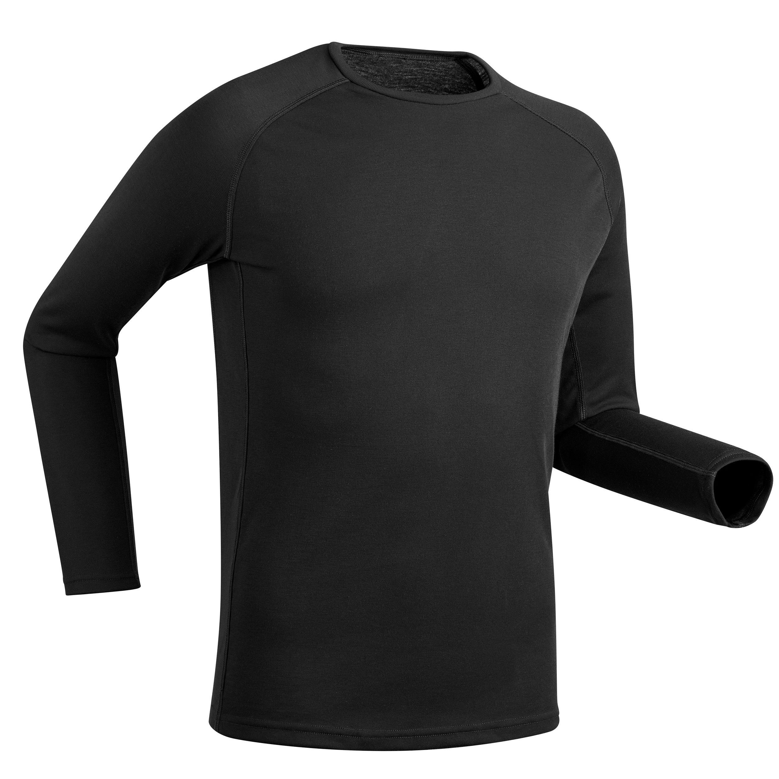 Skiunterhemd 100 Herren schwarz   Sportbekleidung > Funktionswäsche > Thermounterwäsche   Wedze