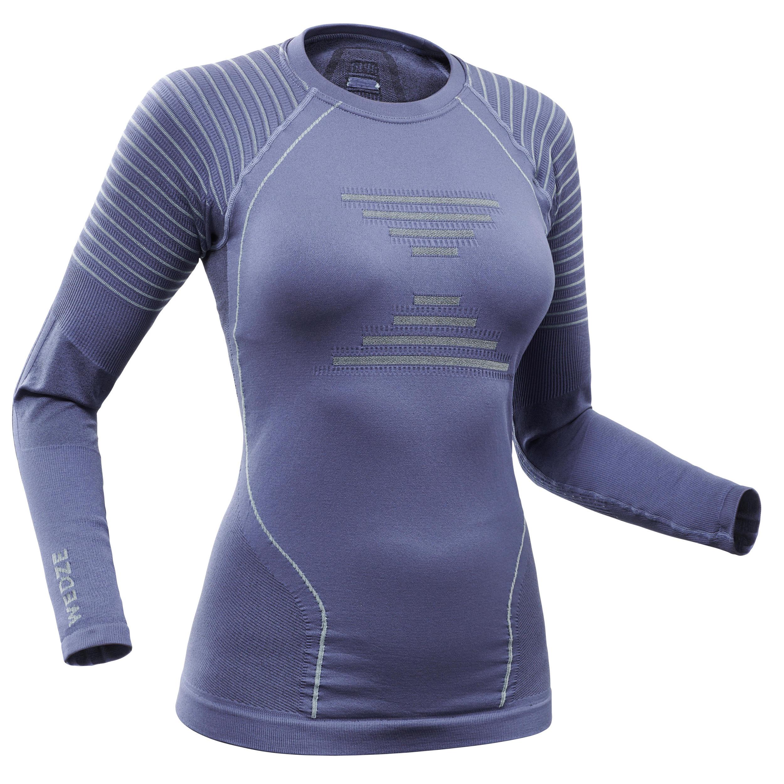 Skiunterhemd Funktionsshirt 900 Damen | Sportbekleidung > Funktionswäsche > Thermounterwäsche | Wedze