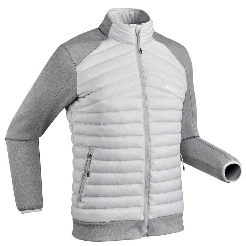 Sous-veste doudoune duvet de ski Homme 900 Grise