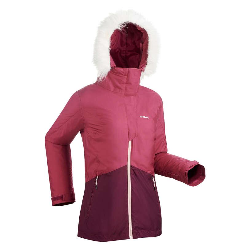 ABBIGLIAMENTO SCI DONNA PRINCIPIANTE Sci, Sport Invernali - Giacca sci donna 180 viola WEDZE - Abbigliamento sci donna